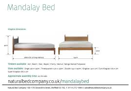 bed sizes. Mandalay Bed Dimensions Sizes