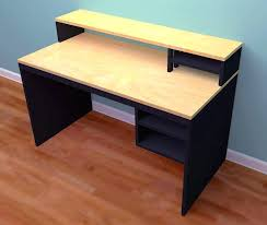office desk plywood diy free schoolhouse craft table plans