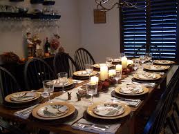Setting A Dinner Table Dining Room Table Settings For Thanksgiving Beautiful
