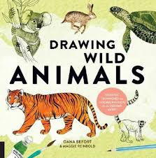 Wild drawing of animals Outline Clipart Library Bolcom Drawing Wild Animals Oana Befort 9781631593499 Boeken