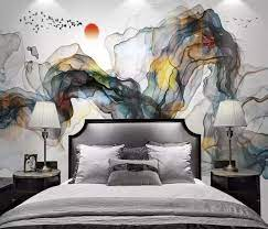 Murwall Abstract Wallpaper Colorful ...