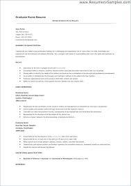 Nurse Resumes Examples Nurse Resume Objective Examples By John Doe