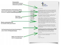 Breaking Down Solicitation Letters Fundraising And Fundraising Ideas