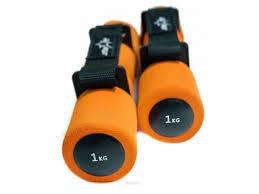 Купить <b>гантель Starfit DB</b>-<b>203</b> (1 кг), оранжевая (пара) по цене от ...
