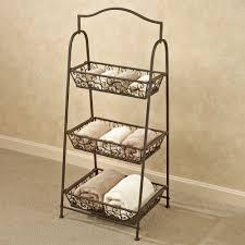 tiered basket storage rack antique bronze touch to zoom