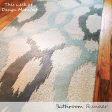 rug runners for bathroom small size of bath rug runner target bathroom rug runner bathroom runner