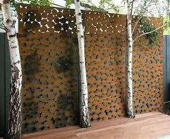 decorative  on wall art garden uk with decorative metal screens brisbane outdoor panels wall art garden uk