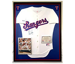 On Psa Field - Jersey At Sports Rangers Ryan signed Coa Authentic Premium Store Collectibles Rawlings Nolan Framed Vintage Amazon's Autographed Texas