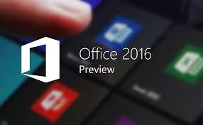 Download Gratis Preview Microsoft Office 2016