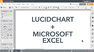 Lucidchart Tutorials Add Diagrams To Microsoft Excel