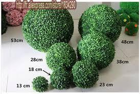 Decorative Boxwood Balls 100cm Bonsai Plants Artificial Plastic Boxwood Ball Grass Ball For 68