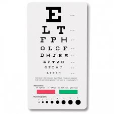 Snellen Chart Pdf Snellen Pocket Eye Chart