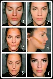 great tutorial on simplified contouring with makeup beauty contouring