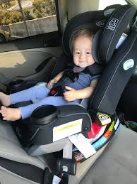 10 month old baby boy Landon in Graco 4ever Platinum Extend2Fit Car Seat A Mom\u0027s Review of 4Ever 4-in-1 Convertible