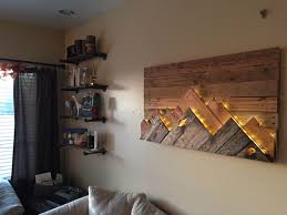 wooden mountain range wall art by 234studios on etsy on diy backlit pallet wall art with wooden mountain range wall art by 234studios on etsy woodworking