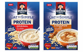 quaker s oat so simple sachets get protein boost this summer