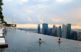Infinity Pool Over Singapore Daily Delights Pinterest