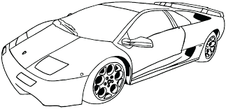 Car Coloring Page Book Cars Printable Pages For Adults Games Cars ...