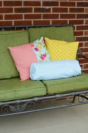 diy spring throw and bolster pillows waverlyinspirations inawaverlyworld