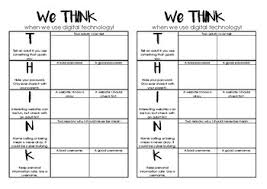 Sheet Online Activity Sheet For Keeping Safe Online We Think Acronym
