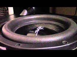 vote no on skar audio ix subwoofers slamming in a skar ix 8d2 excursion part 2