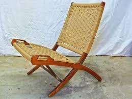 danish modern has wegner yugoslavia folding lounge chair