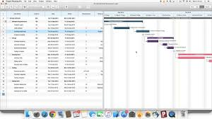 Mac Os X Chart Project Planning Pro For Mac Os X How To Edit A Task In The Gantt Chart