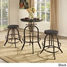 industrial style outdoor furniture. sylvan industrial style wood bar table outdoor furniture