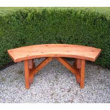 curved garden bench. curved outdoor solid unfinished woods log corner shelf plans woodworking bench in innate oil finish. garden e
