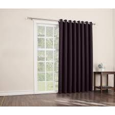 Patio Door Curtain Sun Zero Conrad Blackout Extra Wide Patio Panel Walmartcom