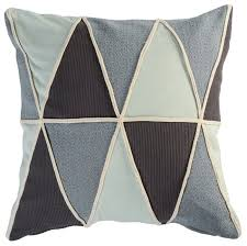 <b>Подушка декоративная</b> Tkano Triangles play из коллекции <b>Ethnic</b> ...
