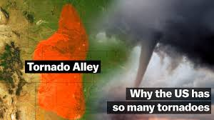 Tornado Alley Designs Why The Us Has So Many Tornadoes Vox