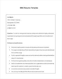 Mba Fresher Resume Pdf Format For Freshers Free Download In Word Mba