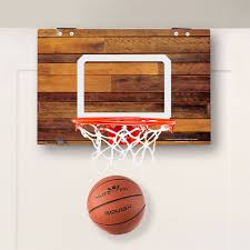 Classic Wood Imaged Mini Basketball Hoop - Nutz101