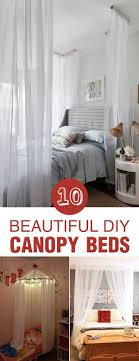 Diy Canopy Bed Best 25 Diy Canopy Ideas On Pinterest Girls Bedroom Canopy Bed