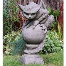 pheeberts stone garden statue oscar the
