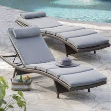 outdoor chaise lounge chairs. Coral Coast South Isle All-Weather Wicker Dark Brown Chaise Lounge - Set Of 2 | Hayneedle Outdoor Chairs T