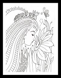 Awesome The Caterpillar Fairy By Stephanie Holtey Free Coloring Book