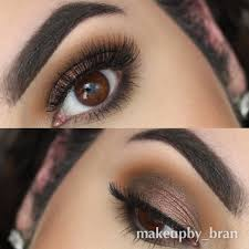 rich warm browns like makeup geek duochrome eyeshadow in steunk add so much depth to a look and this look by brandon nitti is the perfect exle