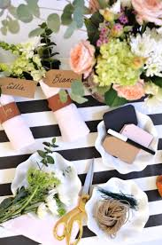 Sometimes a party (baby shower, wedding shower, grad party) requires  something chic, yet disposable. This is by Sophistiplate!