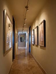 image hallway lighting. midsized contemporary marble floor hallway idea in other with beige walls image lighting g