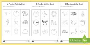 Print these free and printable english worksheets for kids on interesting topics to improve your english. Reception Phonics Worksheets Colouring Resource Pack