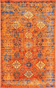 blue and orange area rugs s s blue orange area rugs