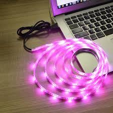 latest technology in lighting. New Arrival DC 5V USB LED Strip Light 50cm 100cm 200cm 3528 Chip White RGB Lamp For TV \\ Bicycle Decorative Lighting-in Strips From Lights Latest Technology In Lighting O