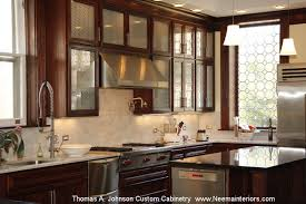 N Thomas A Johnson Custom Kitchen Cabinetry Mahogany Contemporarykitchen