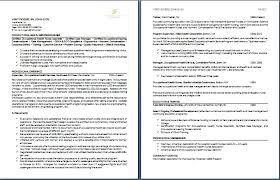 2 page resume sample