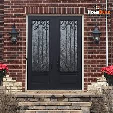 pella entry doors with sidelights. Pella Front Door Fiberglass With Custom Wrought Iron On The Exterior Doors Sidelights: Full Size Entry Sidelights