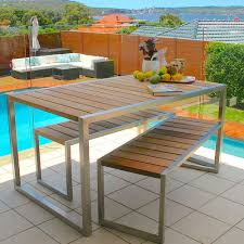 outdoor table and chairs sydney. kediri bench setting outdoor table and chairs sydney