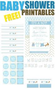 baby shower gift bingo cards free printable pretty my party boy