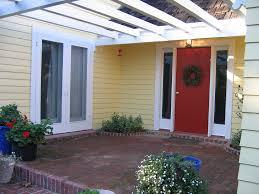 yellow brick house red door. bm heritage red front door, glidden jonquil yellow house, brick patio | by fengshuistyle house door r